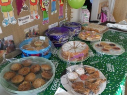 £259.00 raised for MacMillan cancer support.